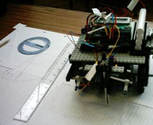 Coordinate Finding Robot